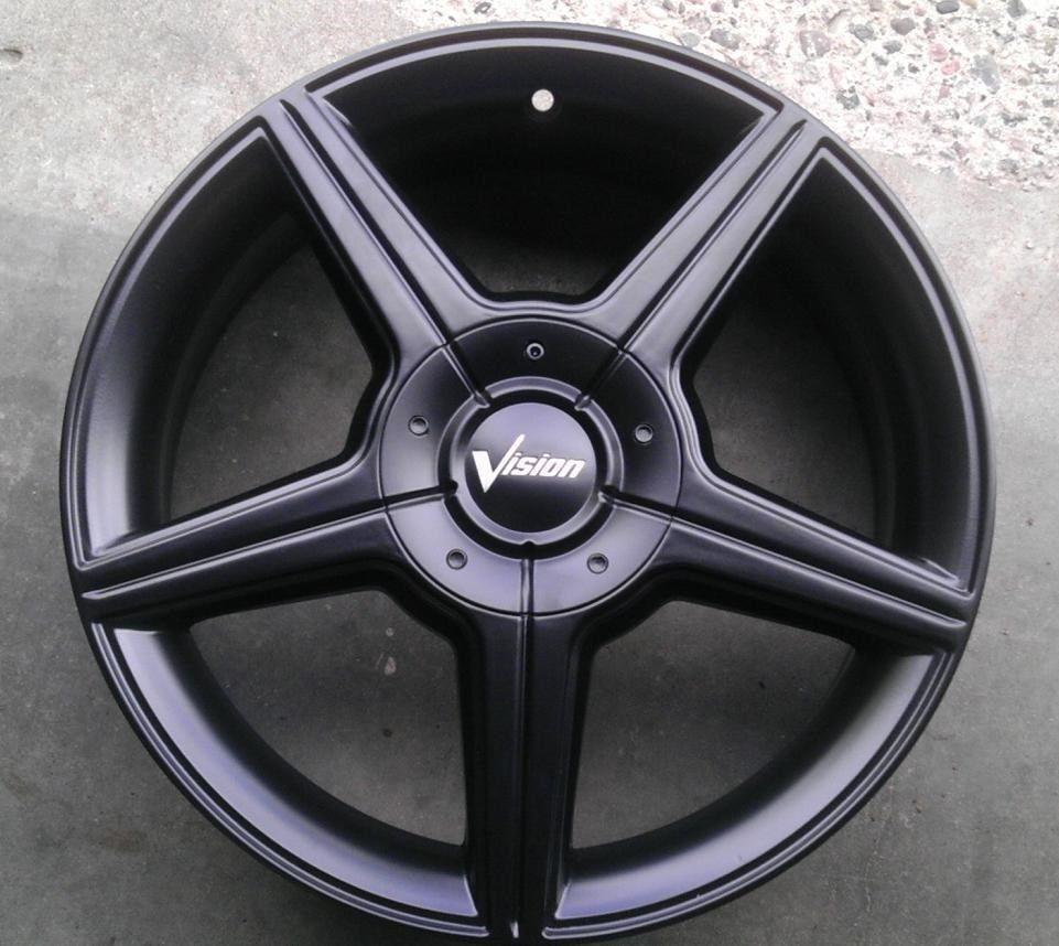 4 Lug 100 114.3 4.5 15x6.5 Black Honda Accord Wheels 15
