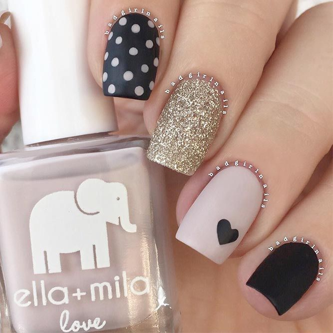 60+ Happy Valentines Day Nails + Inspirational Romantic
