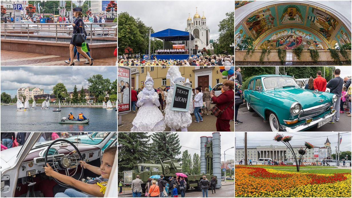 70-vuotias Kaliningrad, Venäjä