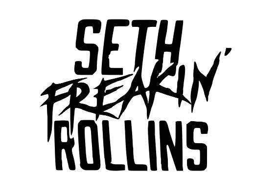 Seth Rollins WWE Wrestling Vinyl Car Decal Bumper Window Sticker