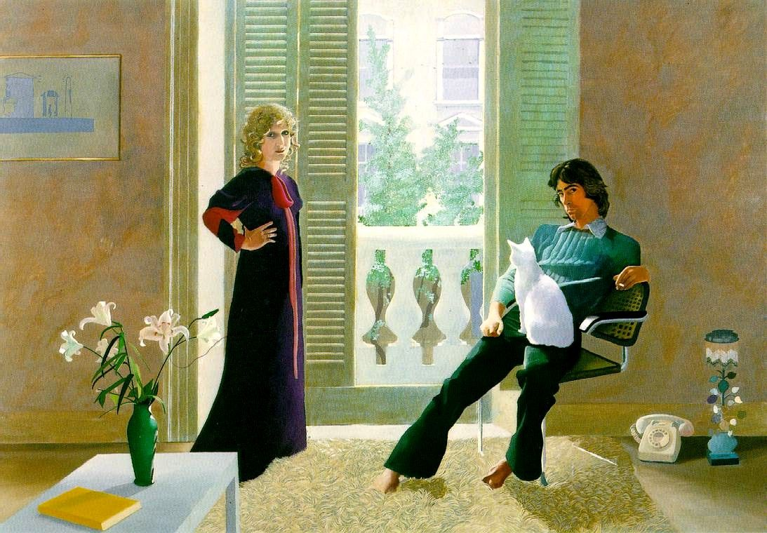 da cosa nasce cosa: David Hockney