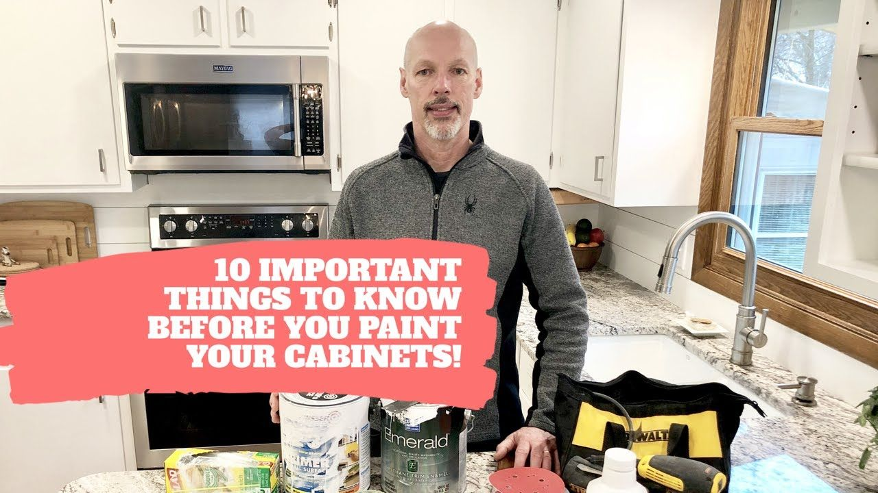 How To Paint Kitchen Cabinets Youtube Painting Kitchen Cabinets White   YouTube in 2020 | Painting