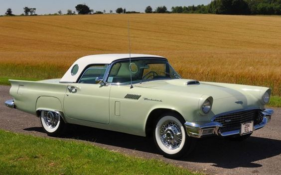 classic thunderbirds   1957 Ford Thunderbird Convertible - US classic cars at Historics At ...