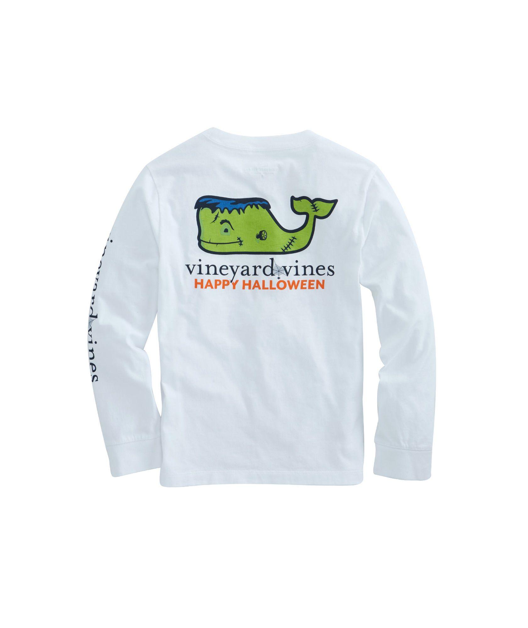 77a8a1c5 Boys Long-Sleeve Frankenstein Whale Pocket T-Shirt | Big Boy Teddy ...
