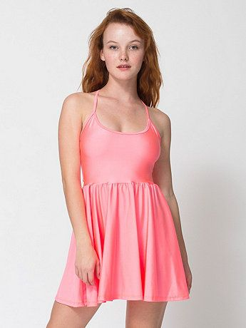 cc613e69926421 American Apparel - Nylon Tricot Figure Skater Dress getting this please  dont get it and wear in front of me