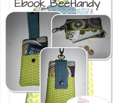 Freebook Handyhülle Mit Geldfach Und Karabiner Taschen Für Jede