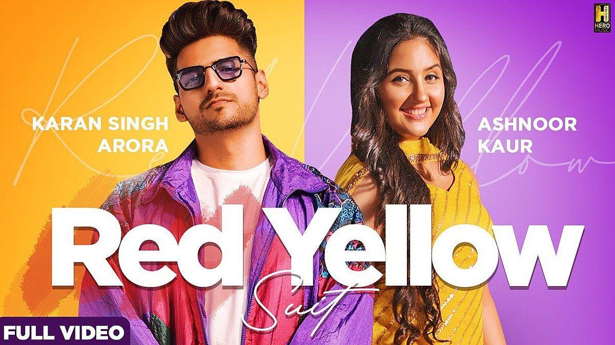 Red Yellow Suit Lyrics Karan Singh Arora S Mukhtiar In 2020