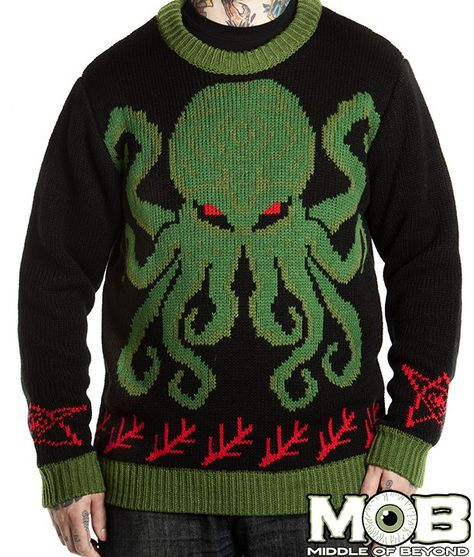 Cthulhu Lovecraft Sweater