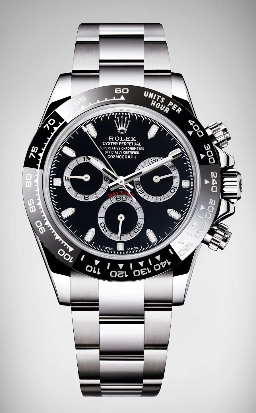 rolex oyster perpetual cosmograph daytona in schwarz. Black Bedroom Furniture Sets. Home Design Ideas