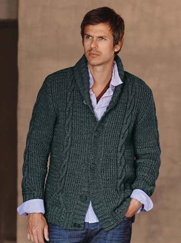 Bergere de France Shawl Collar Jacket Knitting Pattern   knitt ...