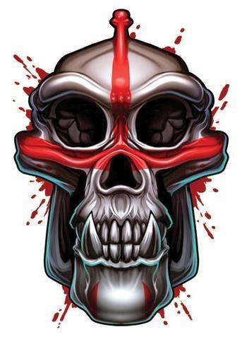 Elephant savage skulls temporary tattoo savage tattoo and aliens