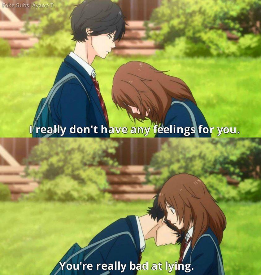 Anime ao haru ride blue spring ride anime romance