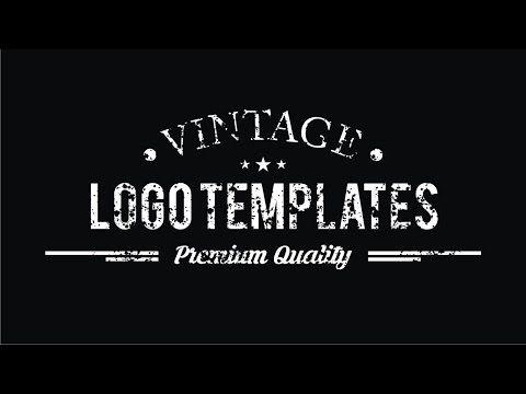 CorelDRAW Tutorials | Vintage Logo Tutorial - YouTube
