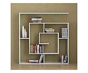 Libreria da parete labirent color bianco 125x125x22 cm полочки