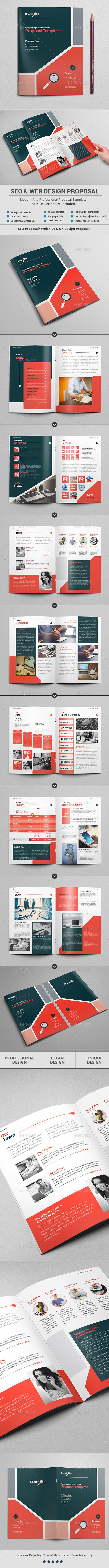 Seo And Web Design Proposal Template By Al Mamun Specification