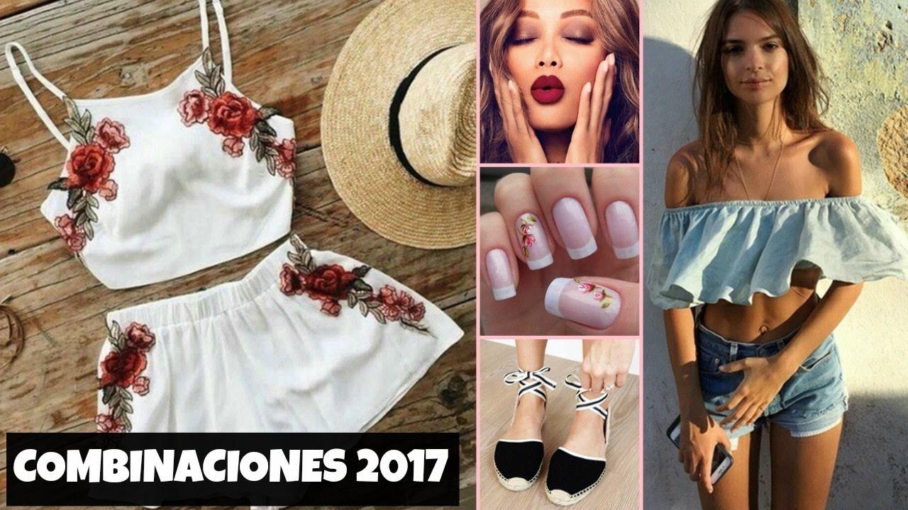 Combinaciones De Ropa 2017 Moda Primavera Verano Mujer Juvenil Moda Primavera Verano 2017 2018 Tendencias Colores De Fashion Off Shoulder Dress Off Shoulder