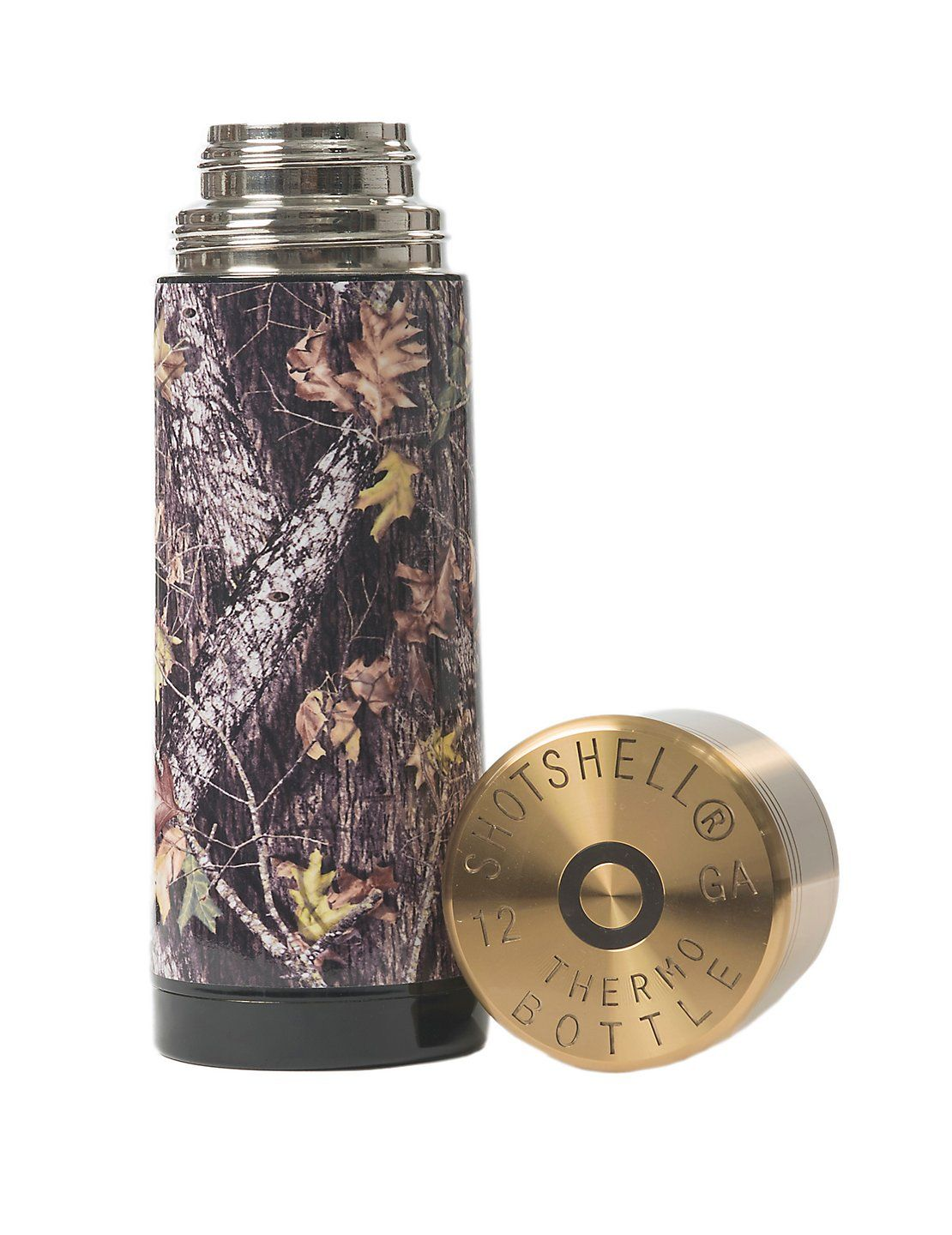mossy oak breakup camo shotshell thermo bottle | mossy oak, camo