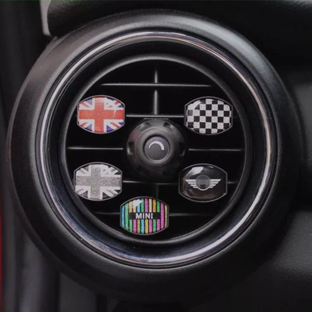 Bling Your Ride Rhinestone Crystal Air Vent Decoration For Mini Cooper Carsoda