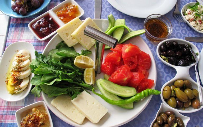 Crunchy fresh vegetables