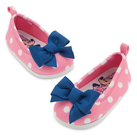 Minnie Mouse Swim Shoes for Baby