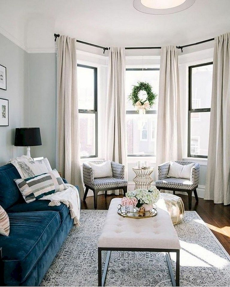 37 Cozy And Simple Rug Idea for Small Living Room | Living ...