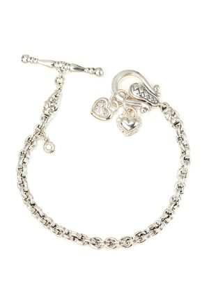 On Ideeli Scott Kay 35 Tcw Diamond Heart Toggle Bracelet