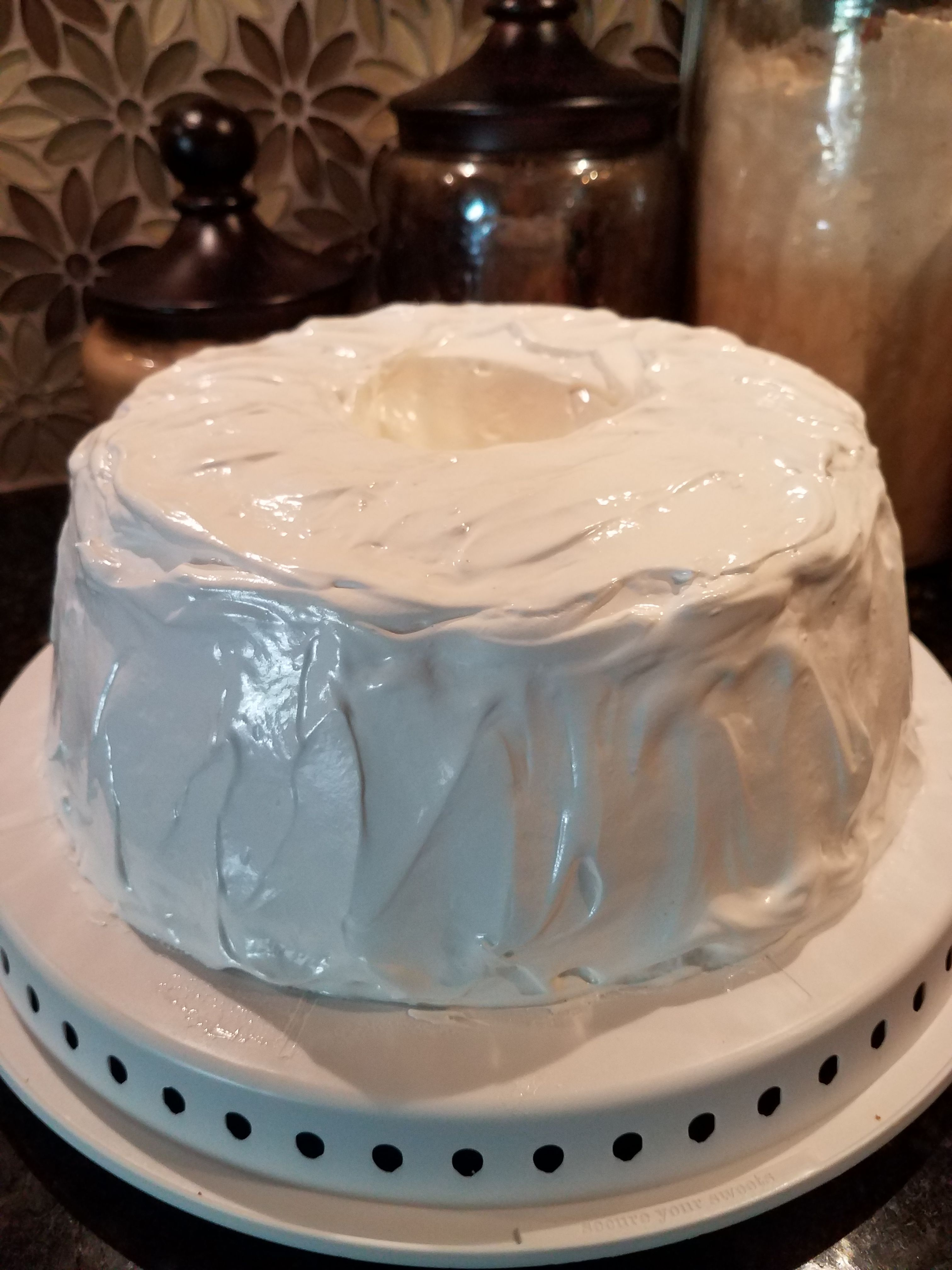 White Cloud Icing Recipe With Images Angel Food Cake