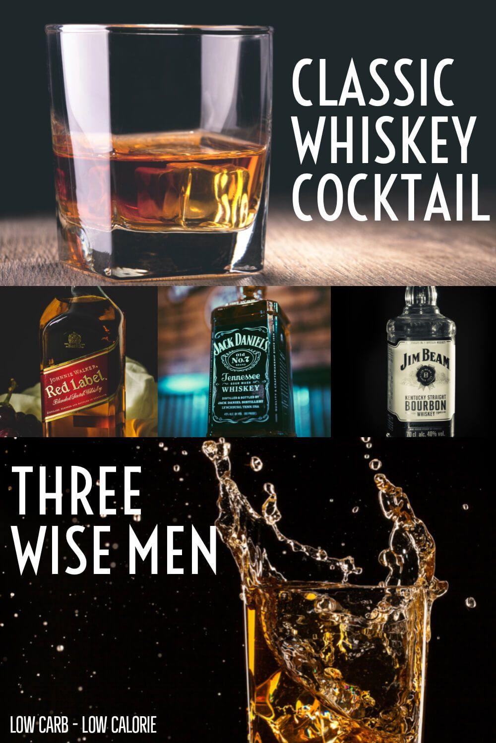 6 Ways To Make A Three Wise Men Shot Word To Your Mother Blog Recipe Whiskey Cocktails Three Wise Men Keto Drinks