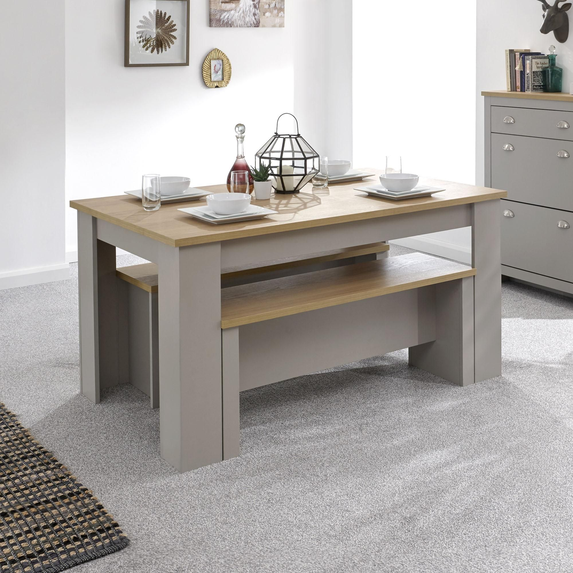 34+ Small dining room table set with bench Best