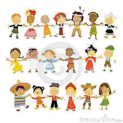 Children Of The World Kids Around The World Kindergarten Themes Multicultural