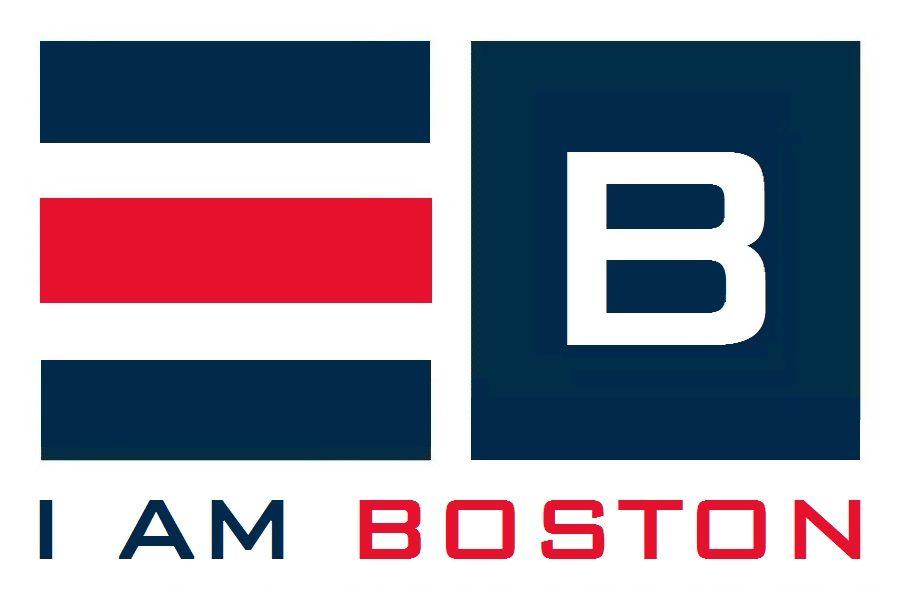 I AM BOSTON logo