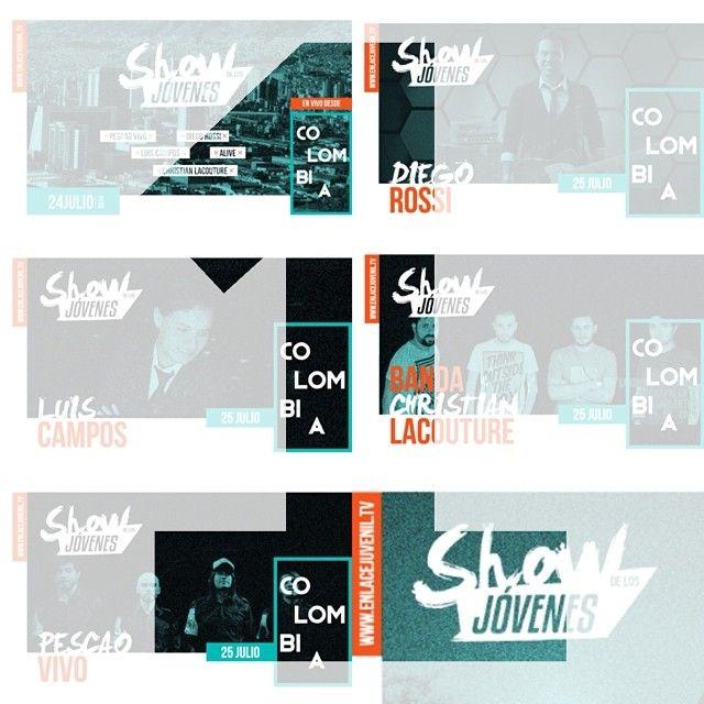 Mañana desde #Colombia, transmisión en vivo del #ShowDeJovenes por @enlacetv y @enlacejuvenil hora: USA Centro 7 PM Centroamérica 6 PM Colombia 7PM Venezuela 7:30 PM Argentina 9PM