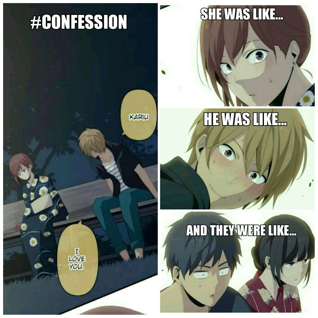 Ohga Confessed His Feelings For Kariu Their Expression Was