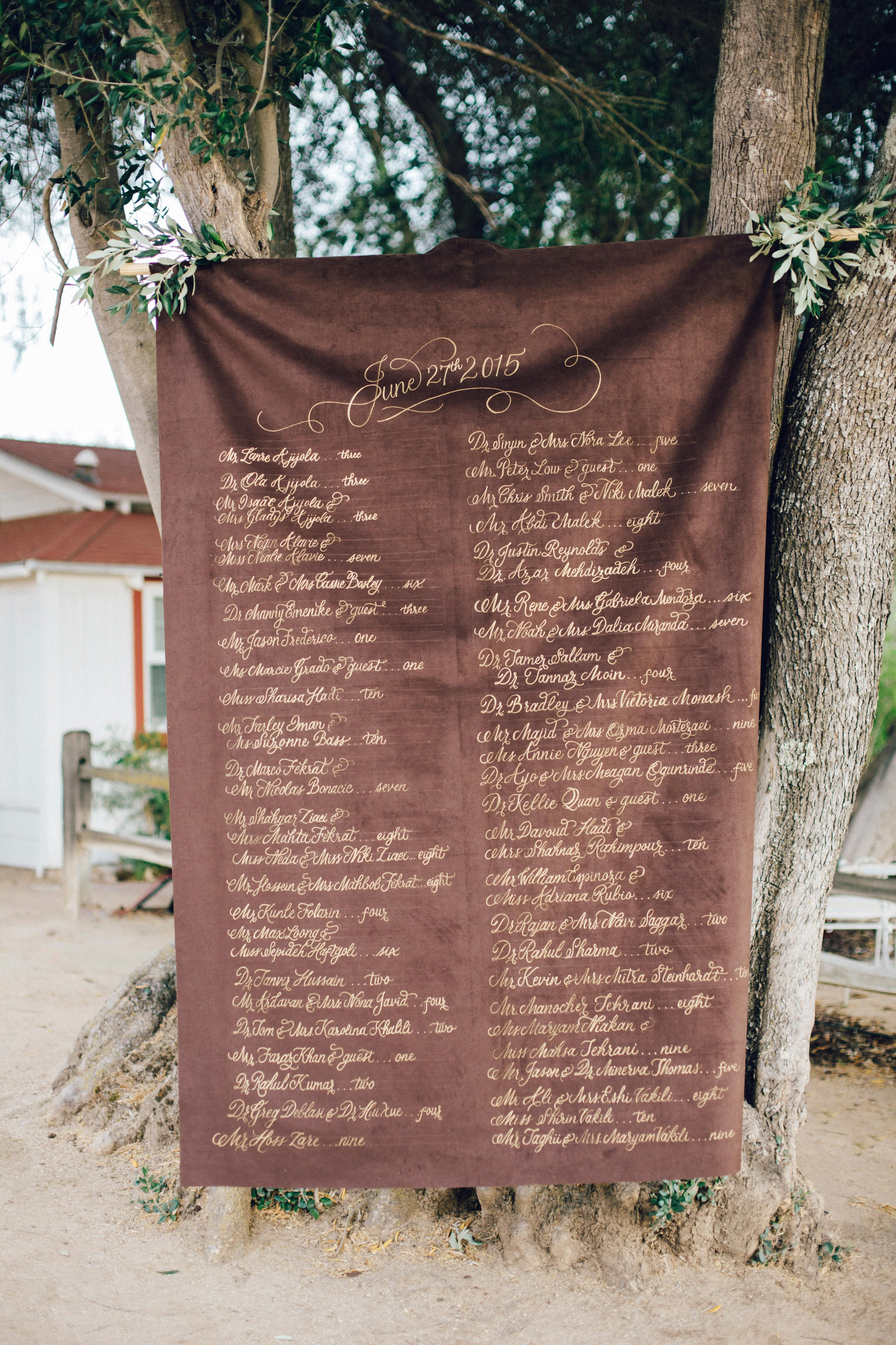 25 Unique Wedding Seating Charts To Guide Guests To Their Tables Seating Chart Wedding Wedding Seating Seating Plan Wedding