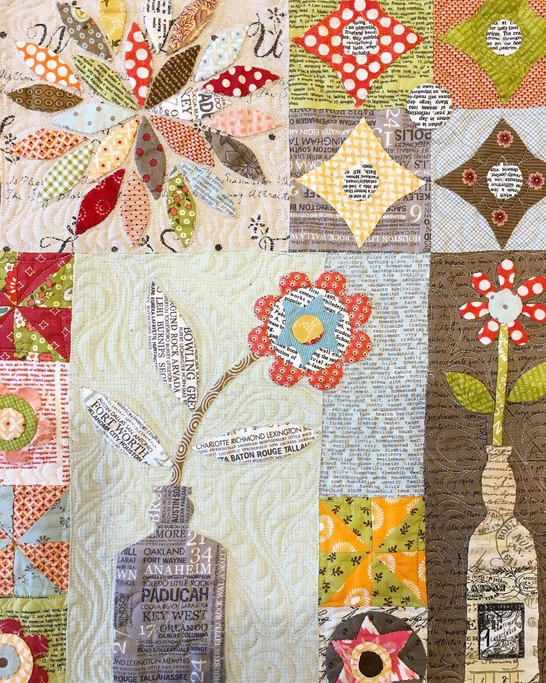 Message In A Bottle A Dream Quilt For Applique Lovers Lovely