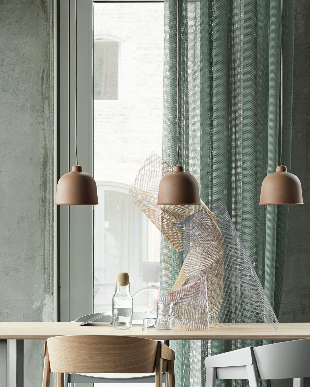 Scandinavian Lighting Inspiration From Muuto The Traditional Pendant Silhouette Recei Scandinavian Furniture Design Scandinavian Lighting Lighting Inspiration