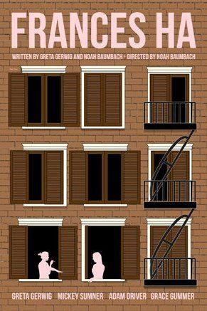 Frances Ha (2012) ~ Minimal Movie Poster by Claudia Varosio