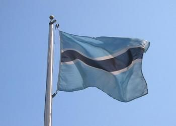 Puzzle Drapeau de Botswana