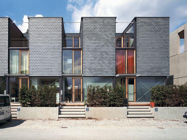 reihenh user in m nchen riem housing low rise pinterest architektur haus und reihenhaus. Black Bedroom Furniture Sets. Home Design Ideas