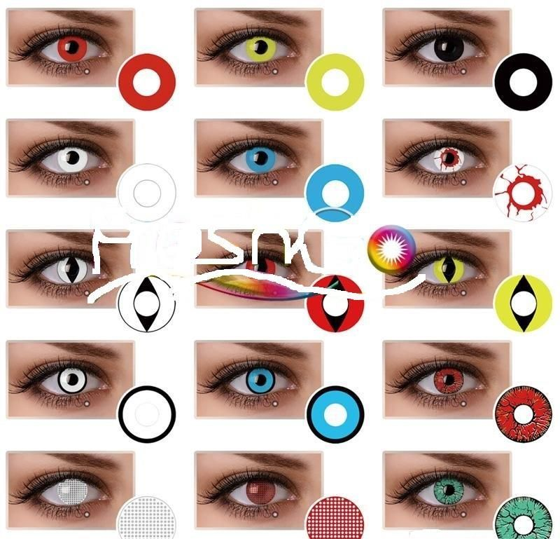 halloween contacts lenses pre order starts today crazy 120 styles