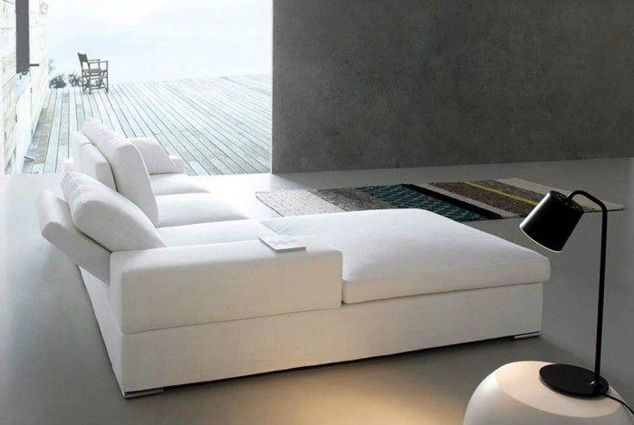 Divano Ocean 2 posti con penisola nel 2020 Divano bianco