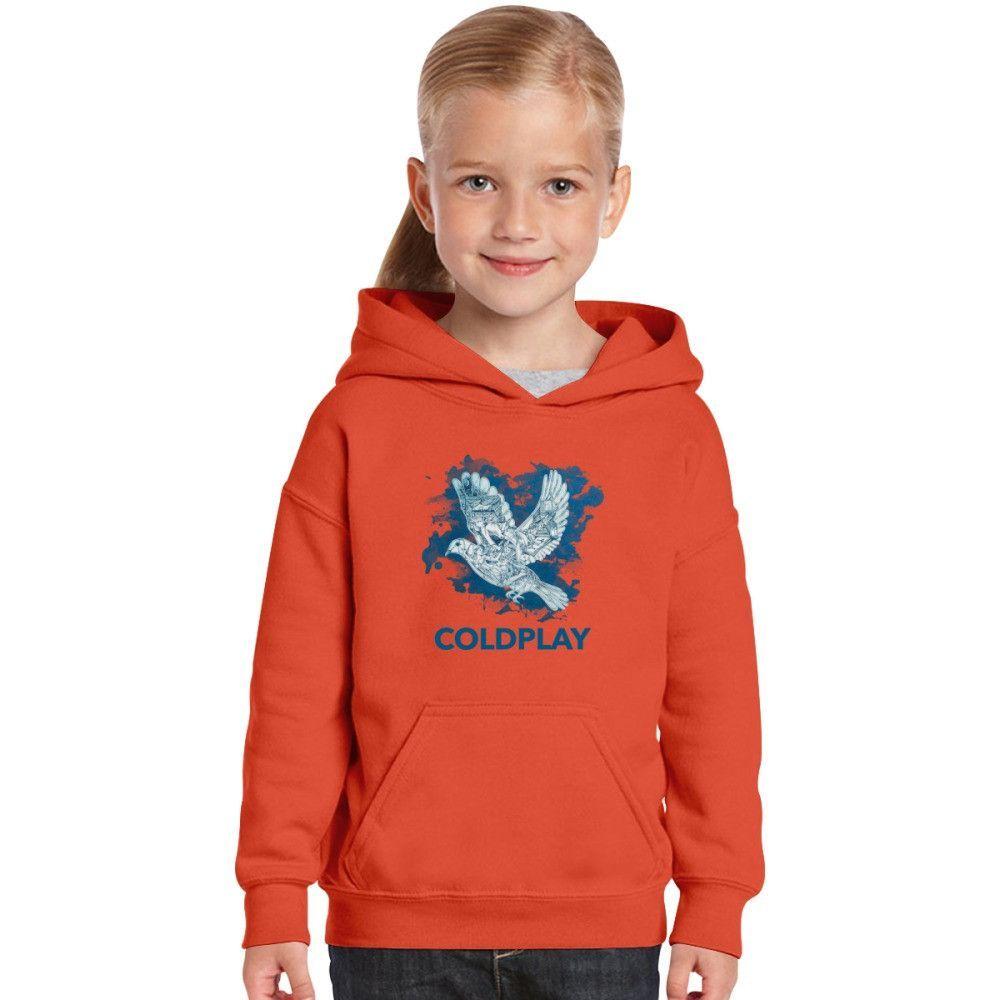 a8c9dbd2c Coldplay - Birds Kids Hoodie Funny Kids, Dragon Ball, Mario Cosplay, Make  Christmas