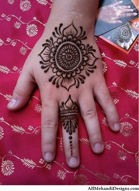 Kids Mehndi Designs, Mehandi Designs for Kids, Mehndi
