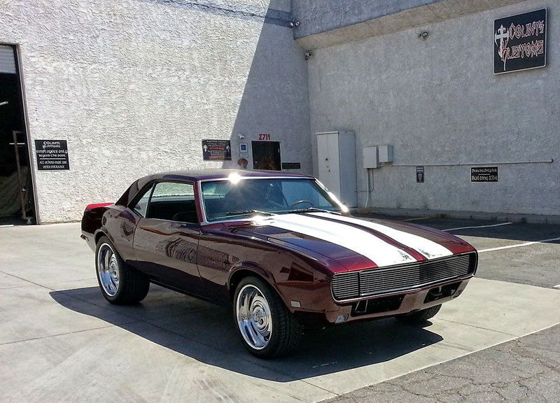 1968 Chevrolet Camaro Ls3 Count S Kustom Built 2017 Click To Find Out More Http