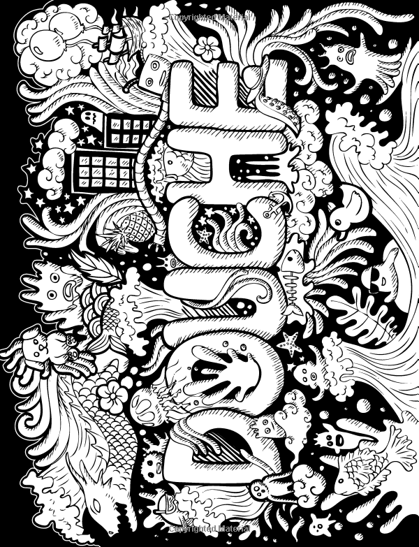 F ck Off I 39 m Coloring Swear Word Coloring Book 40 Cuss