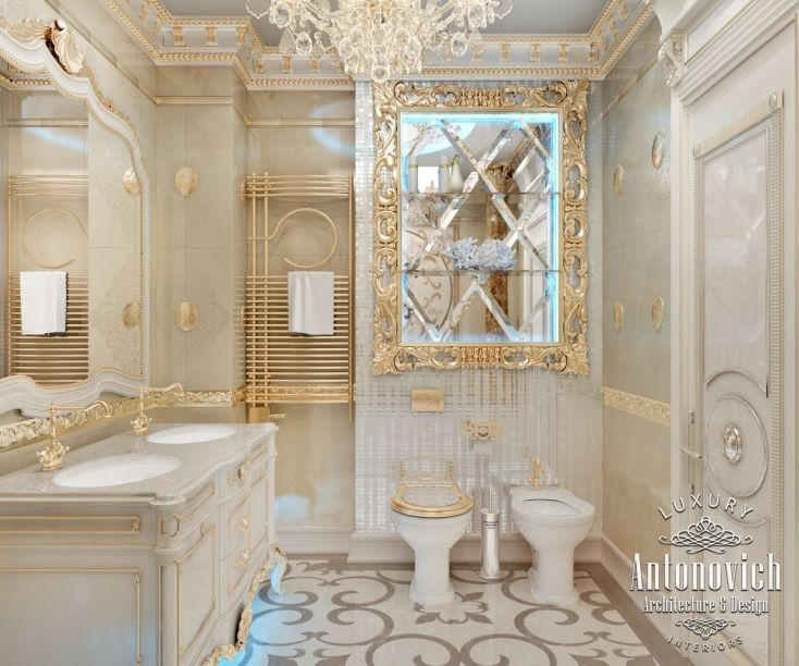 Bathroom Design In Dubai, Luxury Bathroom Interior Dubai