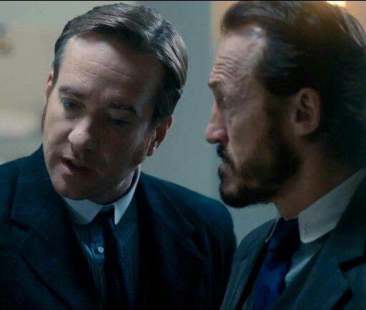 Edmund Reid & Bennett Drake Ripper Street Season 4 #ripperstreet #inspectorreid #matthewmacfadyen #jeromeflynn #bennetdrake