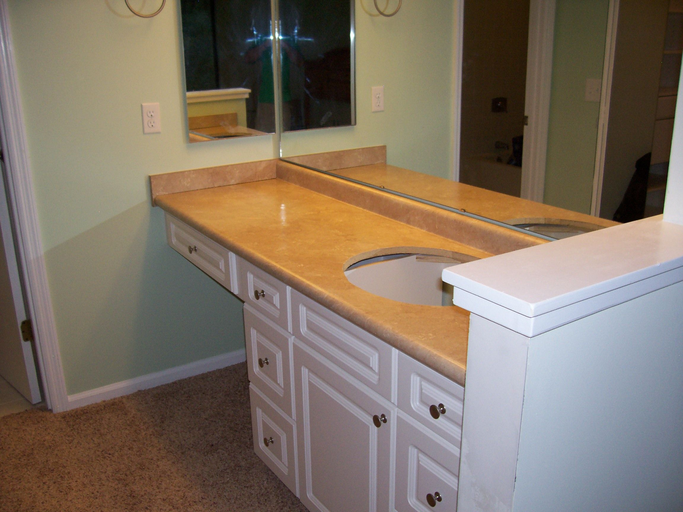 Skibrite Cabinets With Knee Drawer Bathroom Vanity Bathroom Drawers