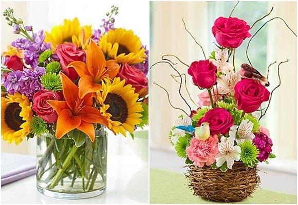 Hacer arreglos de flores para casa como un profesional - Hacer decoracion para casa ...