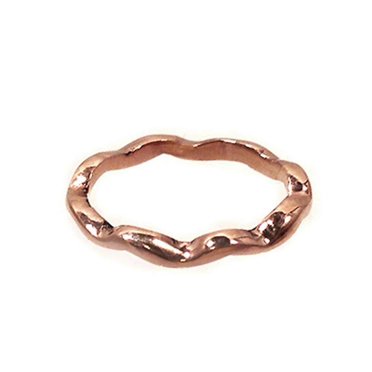 gold ripple ring